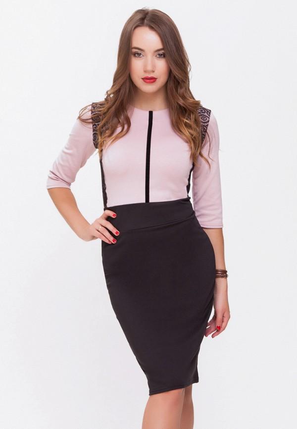 женское платье-футляр xarizmas, розовое