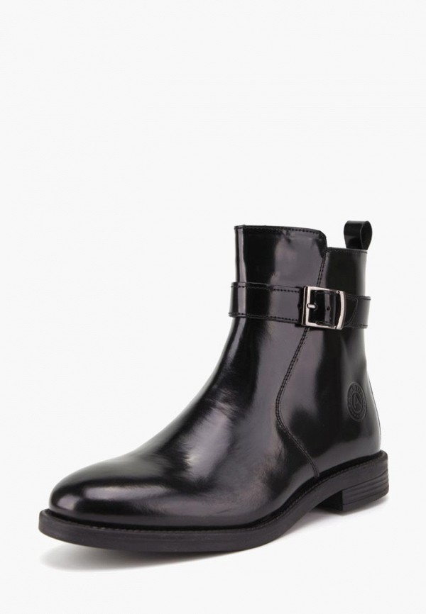 Ботинки Airbox черного цвета