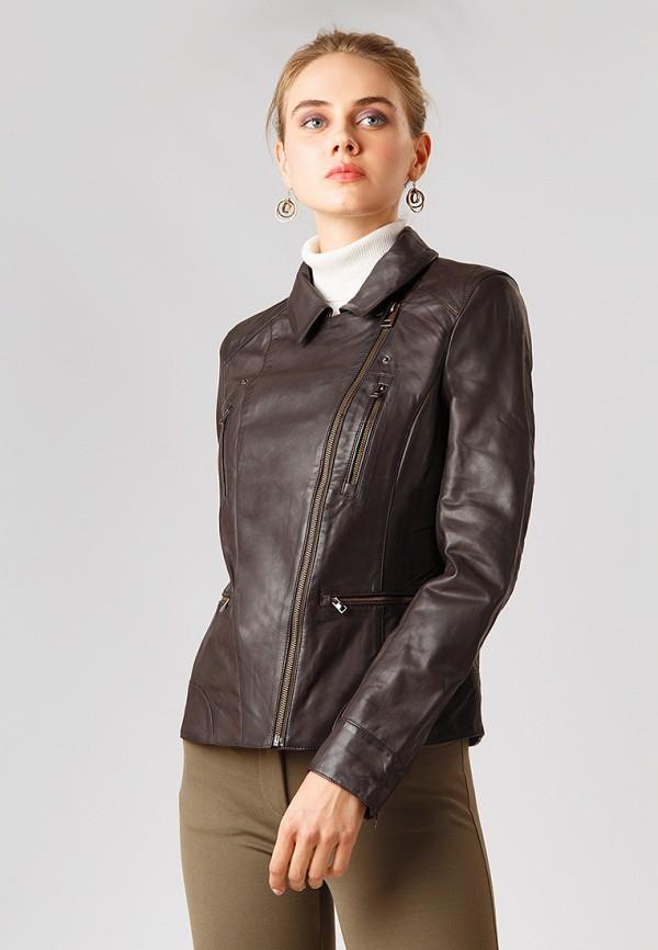 Купить Куртка кожаная Finn Flare, MP002XW1CS8Z, коричневый, Осень-зима 2018/2019