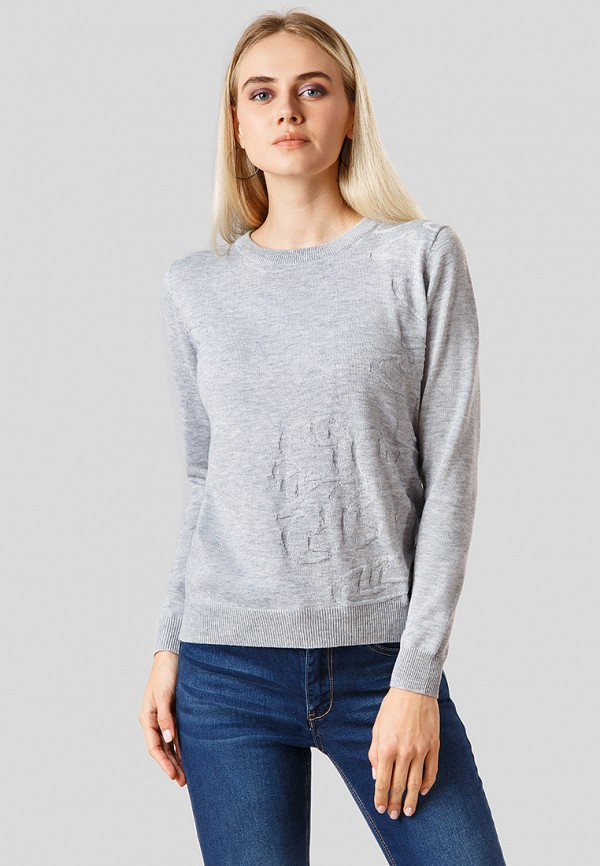 Купить Джемпер Finn Flare, MP002XW1CSLI, серый, Осень-зима 2018/2019