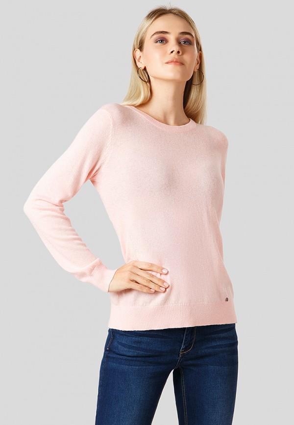 женский джемпер finn flare, розовый
