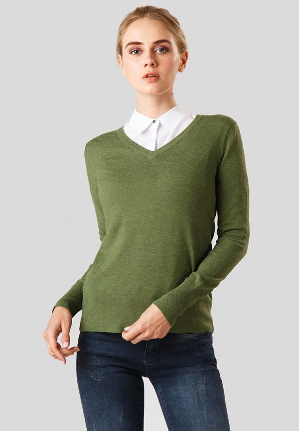 Купить Пуловер Finn Flare, MP002XW1CSMF, зеленый, Осень-зима 2018/2019