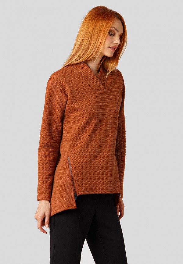 Купить Пуловер Finn Flare, MP002XW1CSML, коричневый, Осень-зима 2018/2019