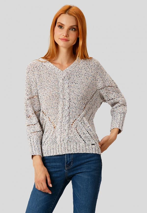 Купить Пуловер Finn Flare, MP002XW1CSMM, серый, Осень-зима 2018/2019