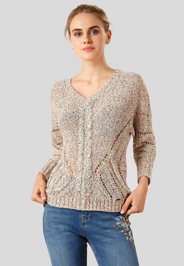 Купить Пуловер Finn Flare, MP002XW1CSMN, разноцветный, Осень-зима 2018/2019