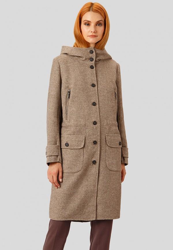 Купить Пальто Finn Flare, MP002XW1CSO0, коричневый, Осень-зима 2018/2019