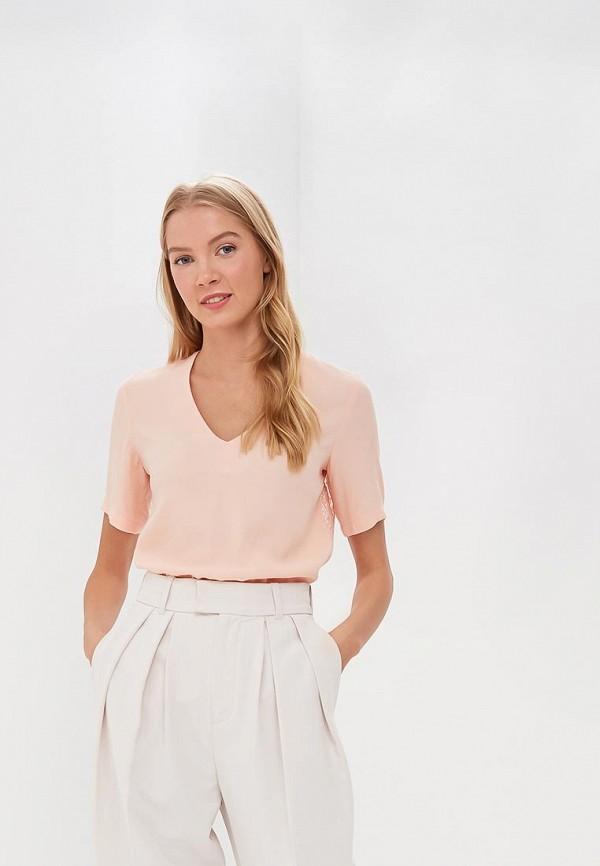 женская блузка ksenia knyazeva, розовая