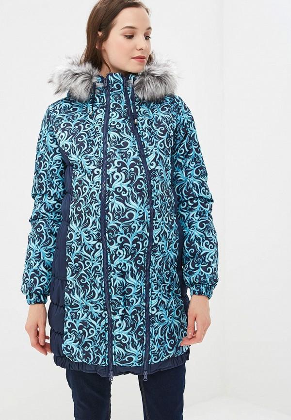 женская куртка для беременных очаровательная адель, синяя