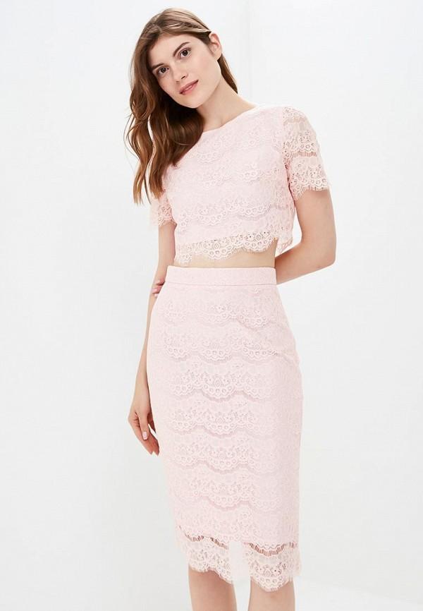 женский костюм zerkala, розовый