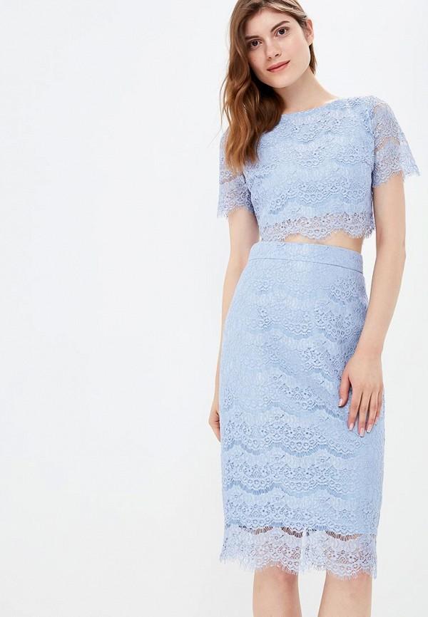женский костюм zerkala, голубой