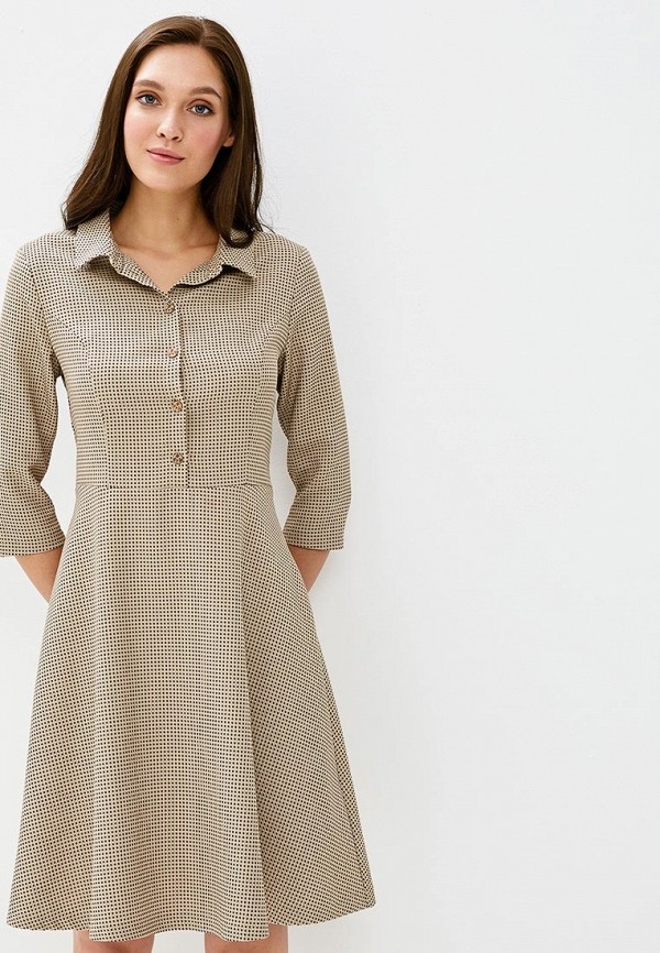 Платье Akimbo цвет бежевый
