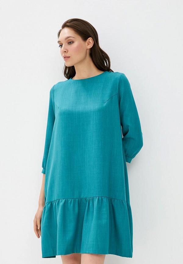 Фото - Платье Akimbo бирюзового цвета