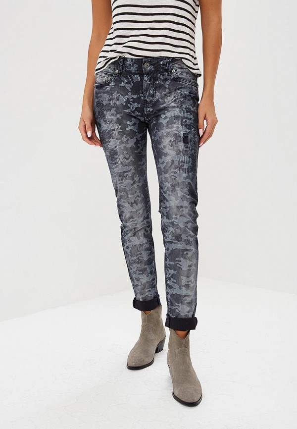 женские повседневные брюки blue monkey, синие