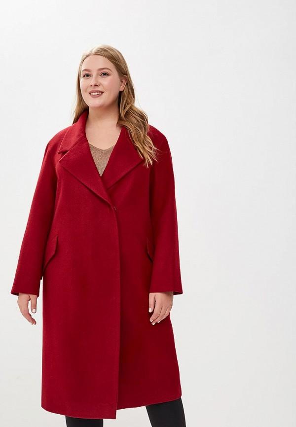 Купить Пальто KR, mp002xw1ctcp, бордовый, Осень-зима 2018/2019