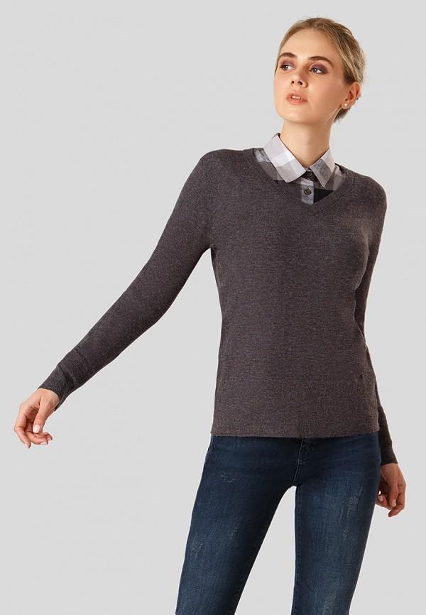 Купить Пуловер Finn Flare, MP002XW1CTFH, серый, Осень-зима 2018/2019