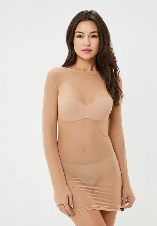 Купить Платье MyMokondo, эротик, Dress ShortStyle , MP002XW1CTW3, бежевый, Осень-зима 2017/2018