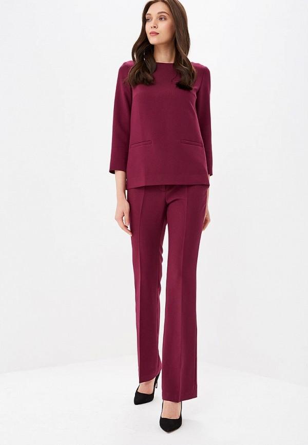 женский костюм villagi, бордовый