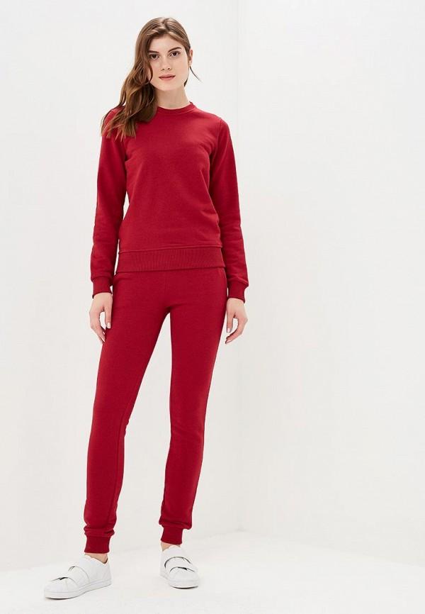 женский спортивные костюм zerkala, бордовый