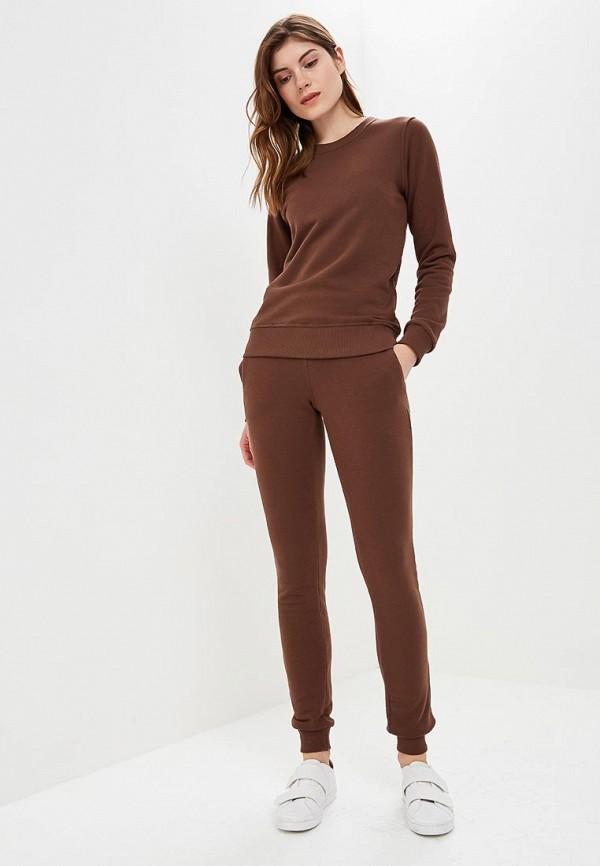 женский спортивные костюм zerkala, коричневый