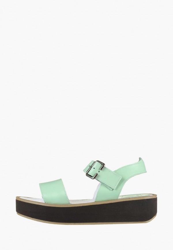 женские сандалии litvin, бирюзовые