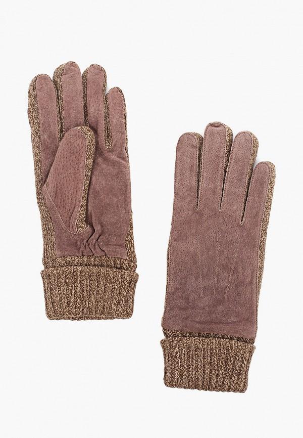 женские перчатки modo gru, коричневые