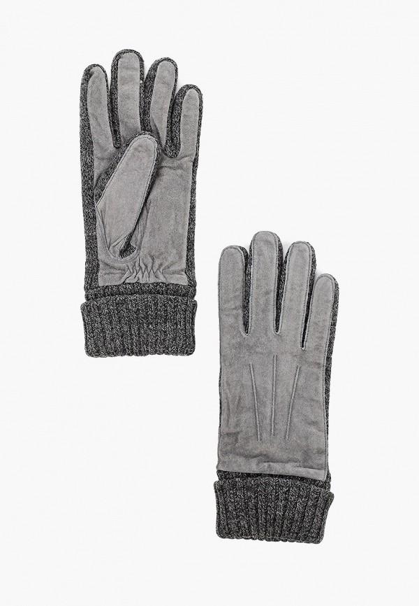 женские перчатки modo gru, серые