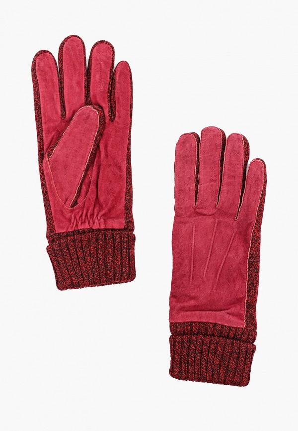 женские перчатки modo gru, бордовые