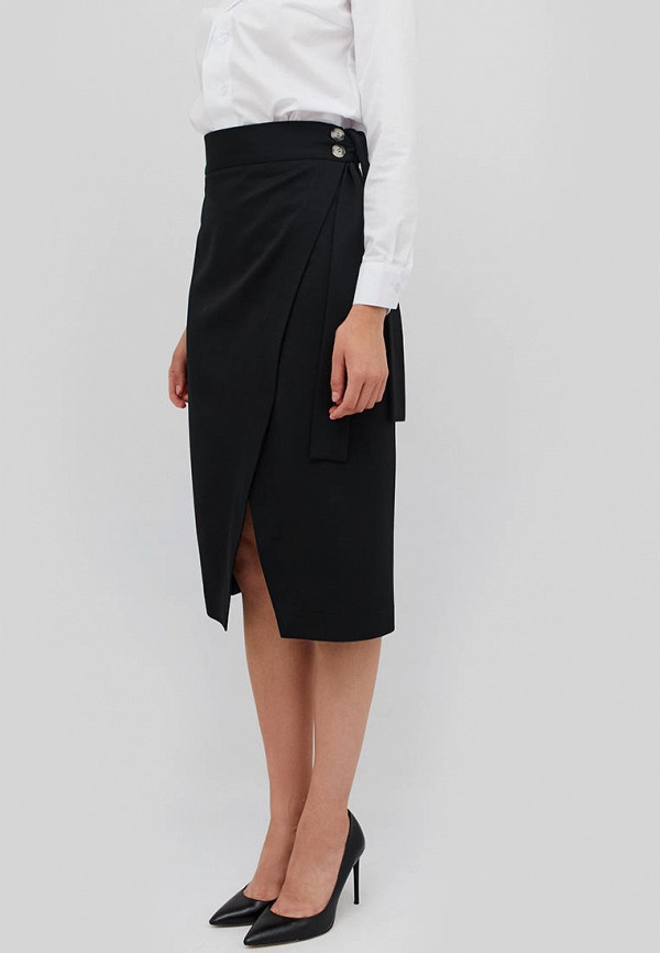 женская прямые юбка cardo, черная