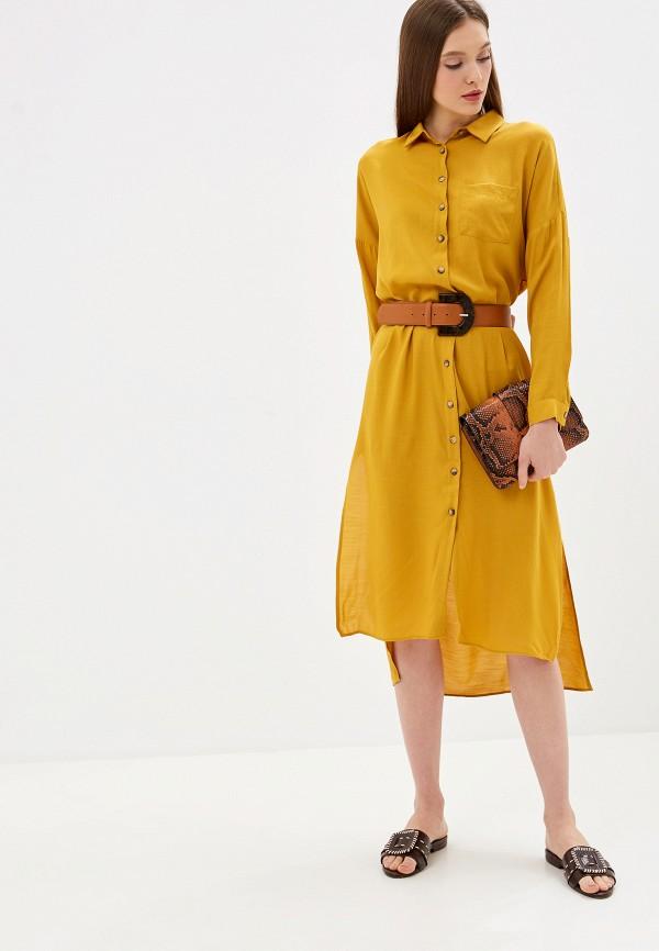 женское платье lc waikiki, желтое