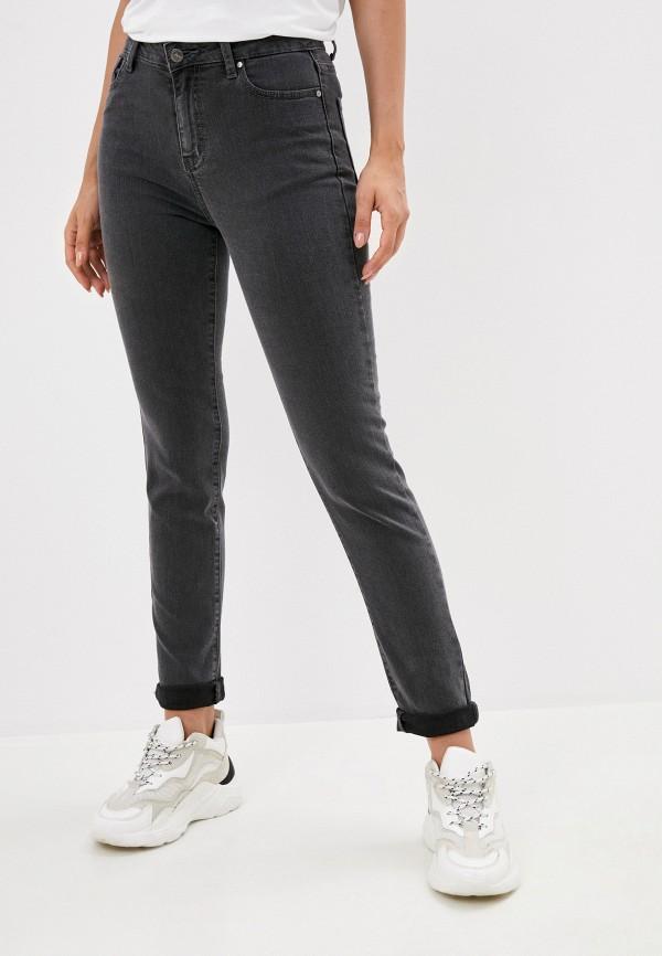 женские брюки скинни zarina, серые