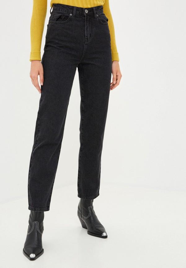 женские прямые брюки zarina, черные