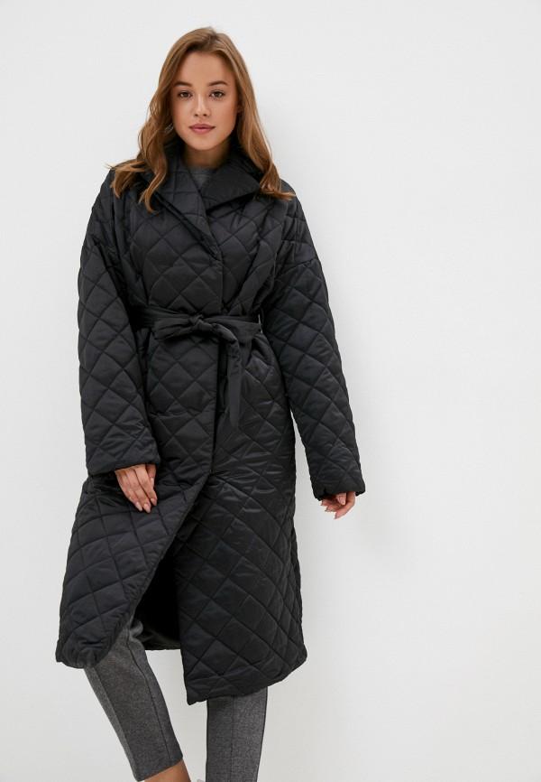 женская утепленные куртка zarina, черная