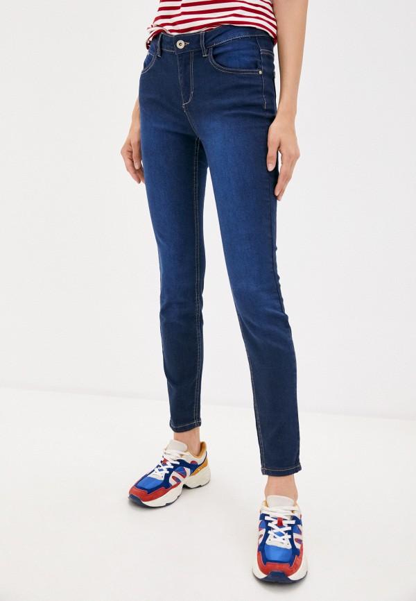 женские джинсы скинни concept club, синие
