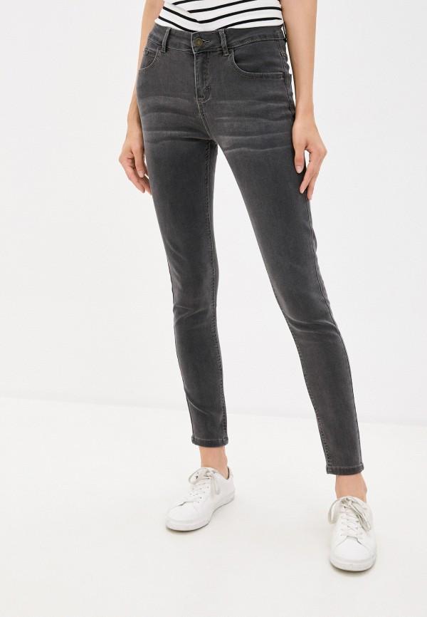 женские джинсы скинни concept club, серые