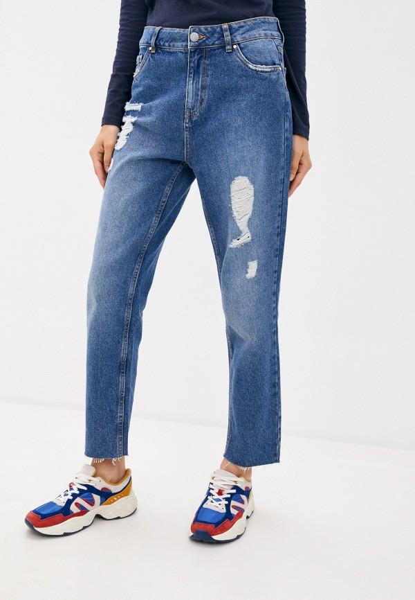 женские джинсы-мом concept club, синие