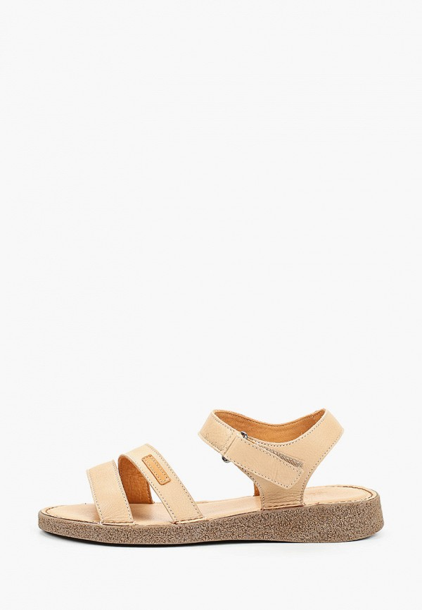 женские сандалии eletra, бежевые