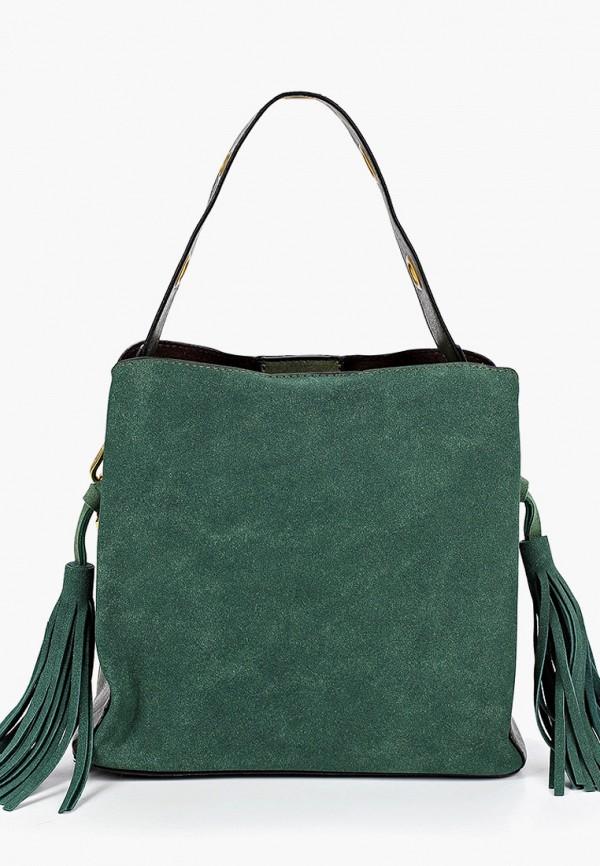 женская сумка через плечо артми, зеленая