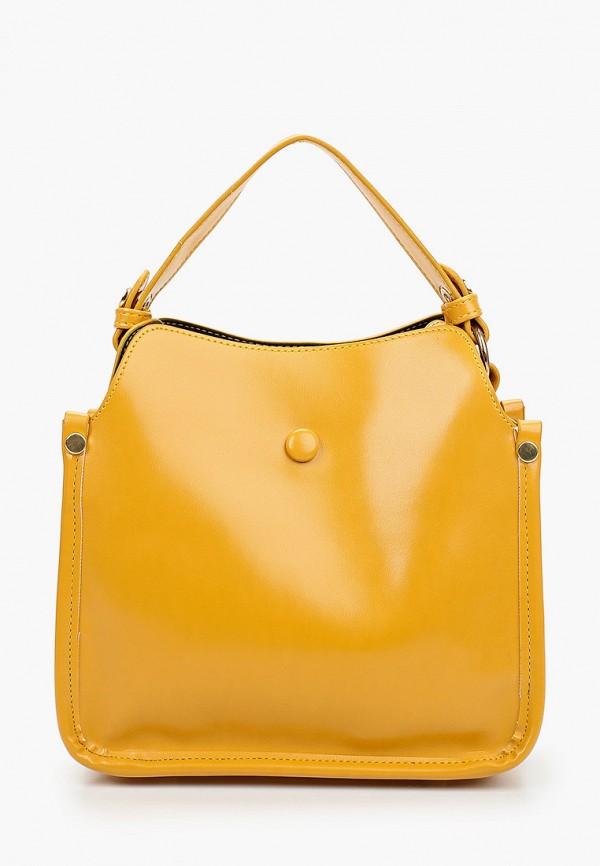 женская сумка через плечо артми, желтая