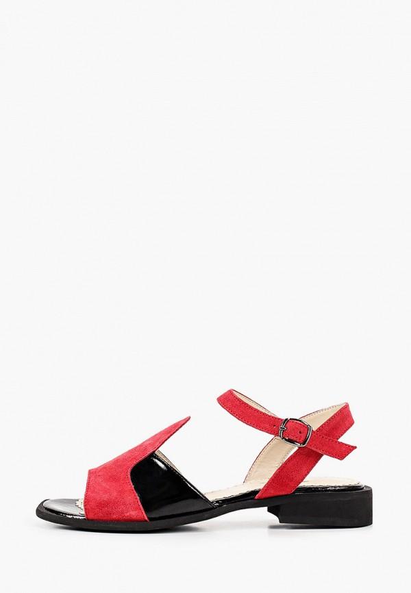 женские сандалии eletra, красные