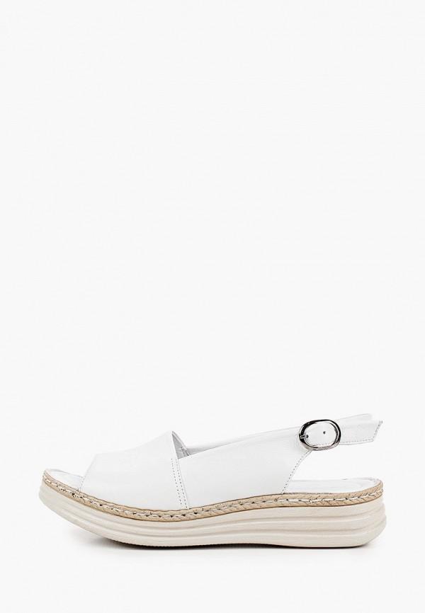 женские сандалии eletra, белые