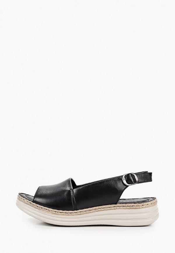 женские сандалии eletra, черные