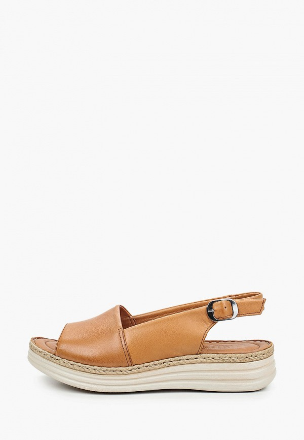 женские сандалии eletra, коричневые