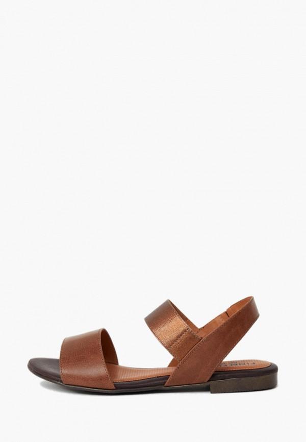 Сандалии Finn Flare коричневого цвета