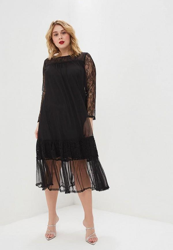 женское вечерние платье mankato, черное