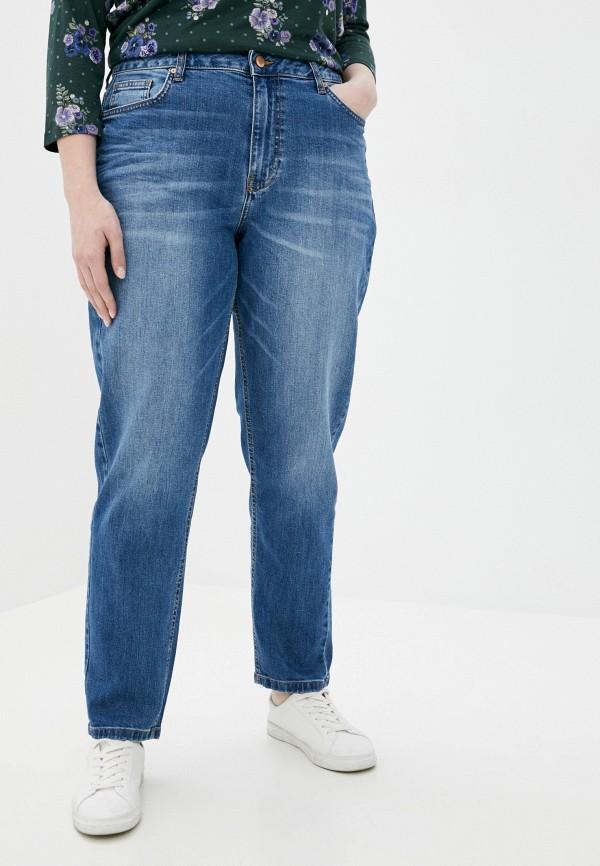 женские джинсы-мом conte elegant, синие