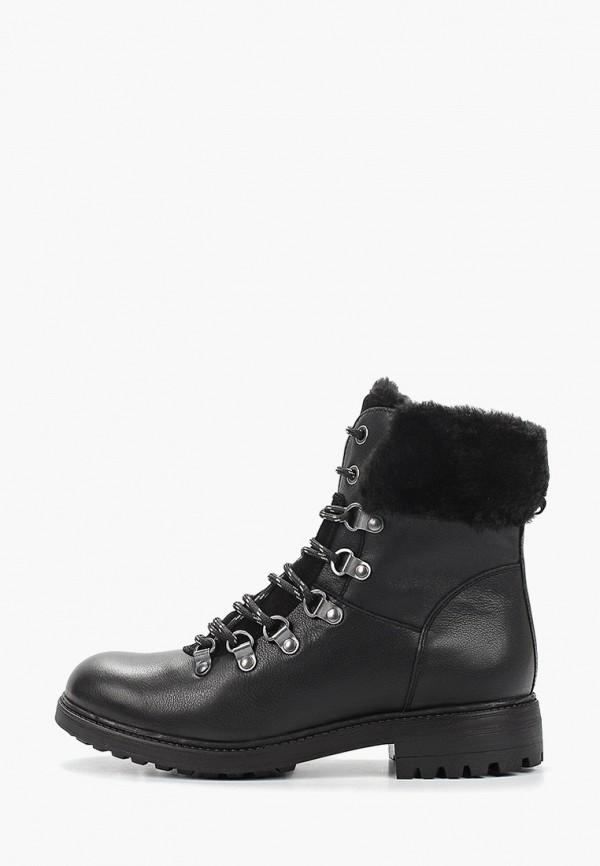 женские высокие ботинки ralf ringer, черные