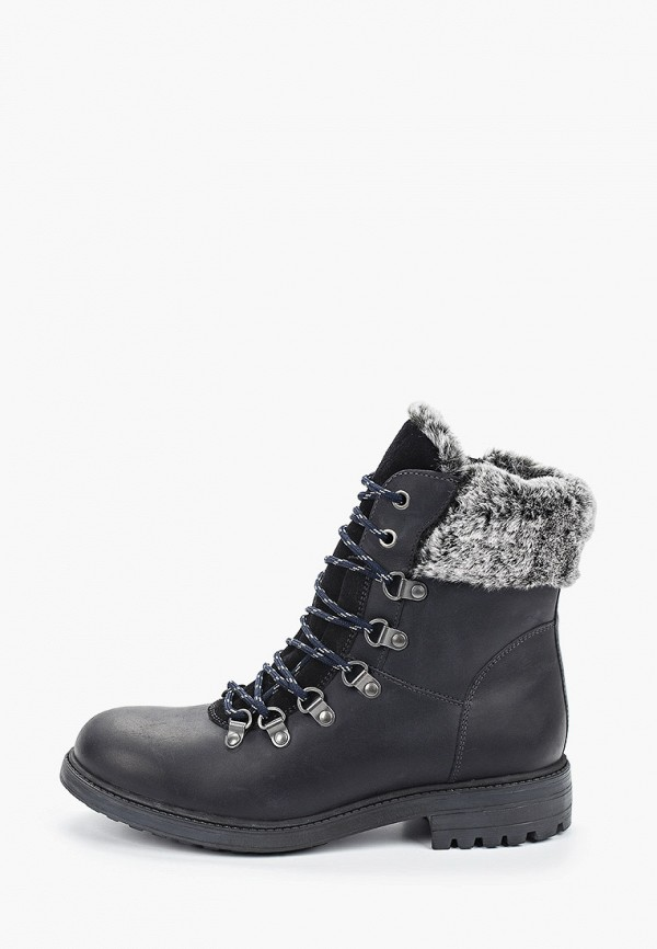 женские высокие ботинки ralf ringer, синие