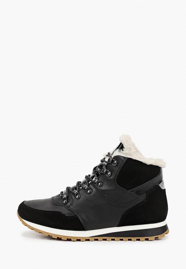 женские высокие кроссовки ralf ringer, черные