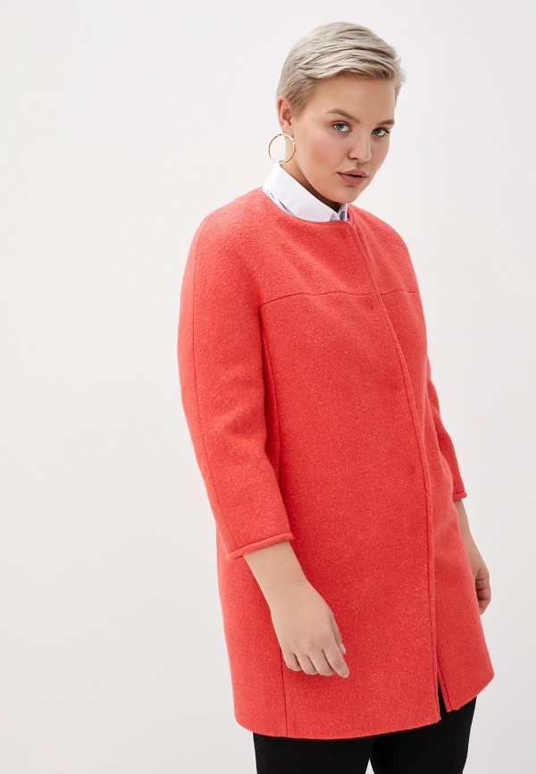 Пальто  - коралловый цвет