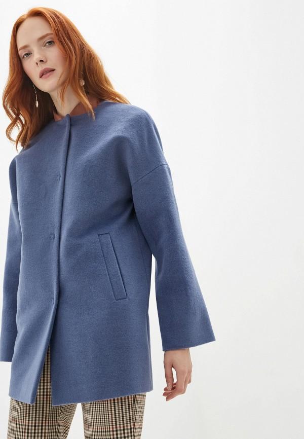 Пальто  - синий цвет